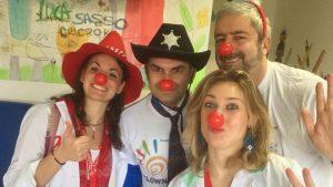L'Ospedale Sandro Pertini si colora di allegria con i nostri dottori dal naso rosso