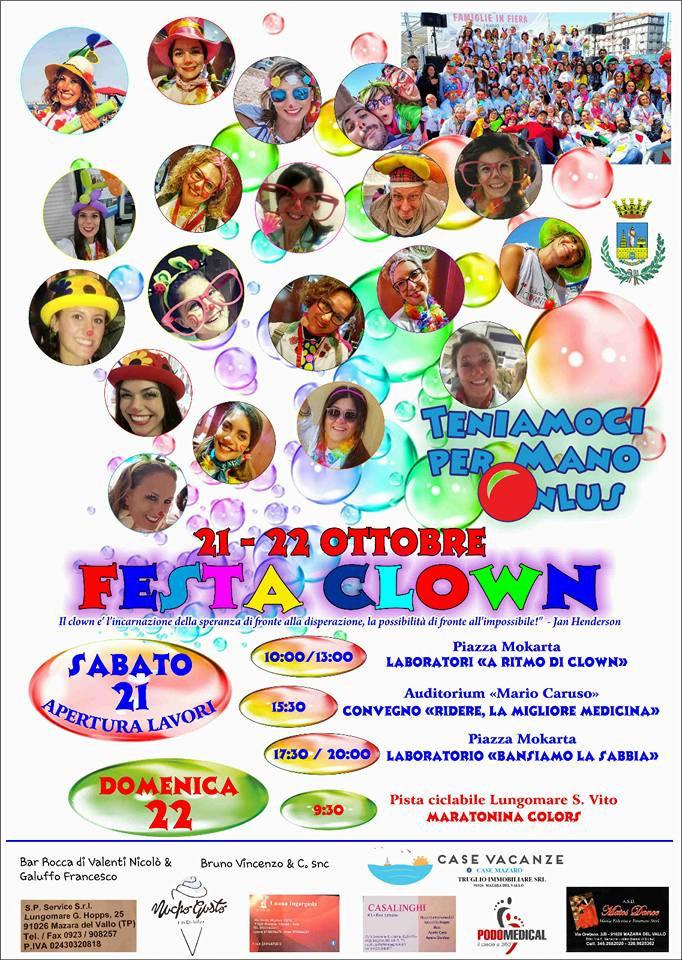 Festa Clown Convegno ridere la migliore medicina