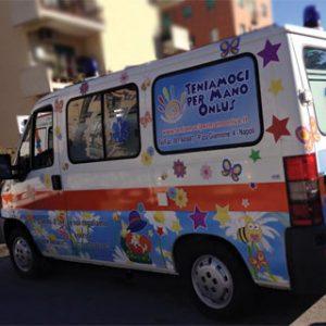 Donazione per Ambulanza dal naso rosso
