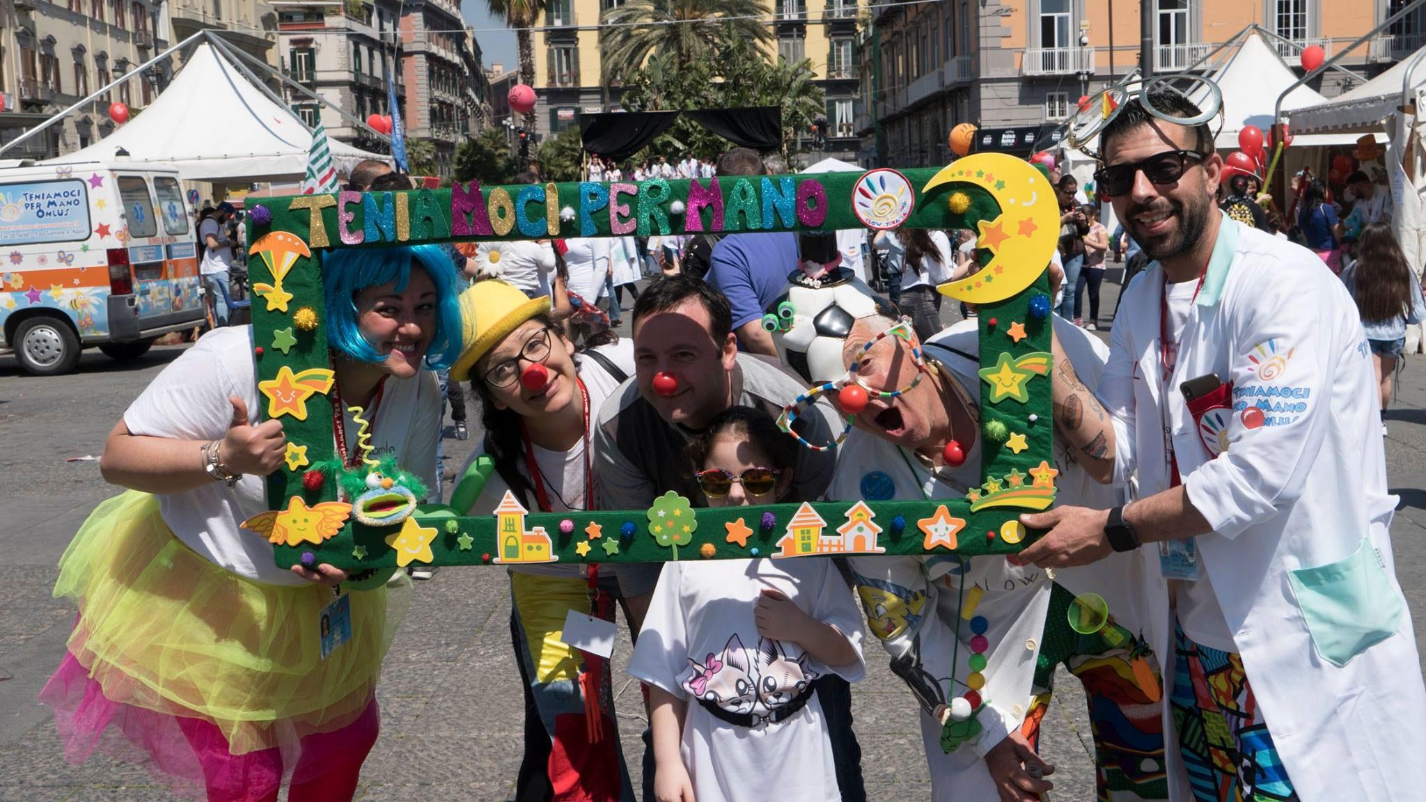 Evento solidale in Piazza Dante