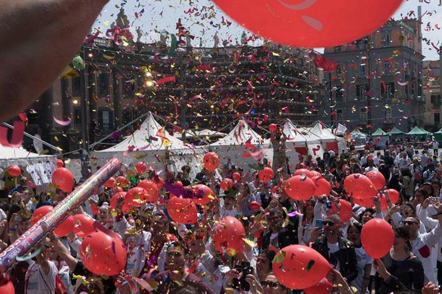 Festa del sorrisi clownterapia Napoli
