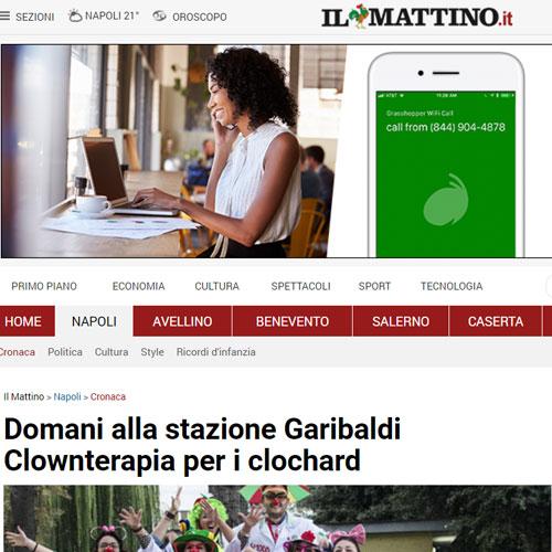 Articolo Domani alla stazione Garibaldi