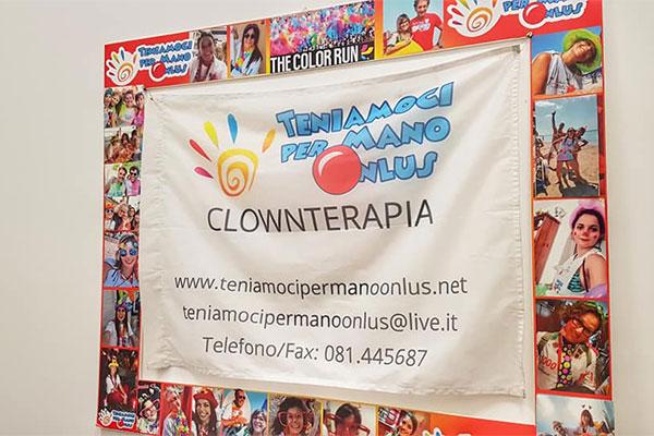 Clownterapia nell'ospedale Abele Ajello