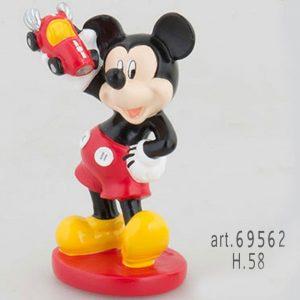 Bomboniera Mickey Mouse Go con macchina